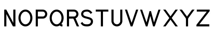 Kirvy Bold Font UPPERCASE