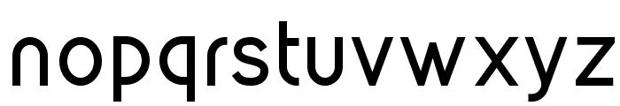 Kirvy Bold Font LOWERCASE