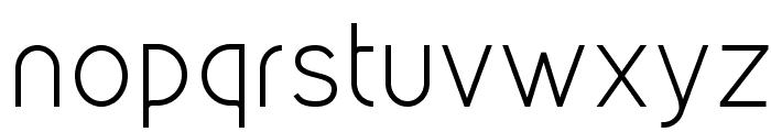 Kirvy Light Font LOWERCASE