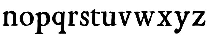 KisMiklos Font LOWERCASE