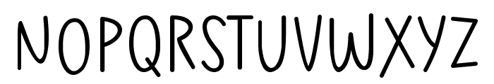 Kisah Ceritra Font LOWERCASE