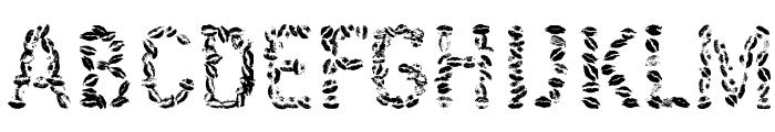Kissingfont Font UPPERCASE