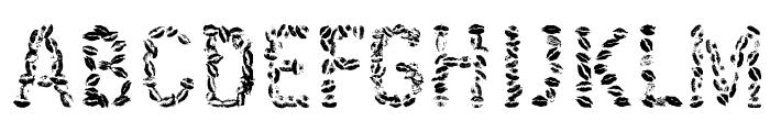 Kissingfont Font LOWERCASE