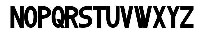 Kitchener Font UPPERCASE
