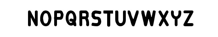 Kittavit Charusombat-Regular Font UPPERCASE