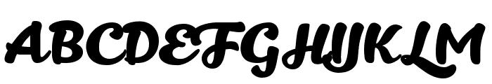 Kitten Bold Font UPPERCASE