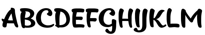 Kitten Slant Font UPPERCASE