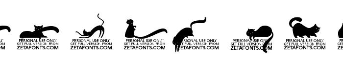 Kitten Swash Monoline Font OTHER CHARS