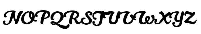Kitten Swash Font UPPERCASE