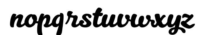 Kitten Swash Font LOWERCASE