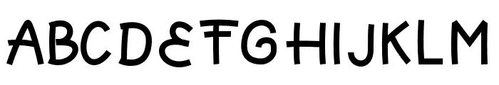 KittenPaw Font UPPERCASE