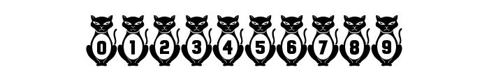 Kitties Regular Font OTHER CHARS