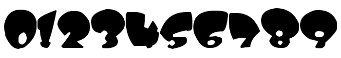 Kitty Weed Font OTHER CHARS