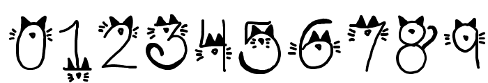 Kitty face Font OTHER CHARS