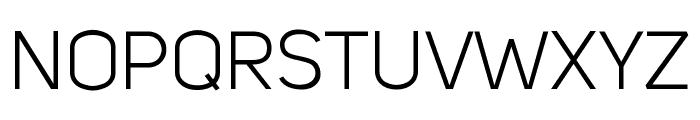 Kiye Sans Regular Font UPPERCASE