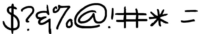 kiana font Font OTHER CHARS