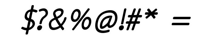 kiddySans-FatItalic Font OTHER CHARS