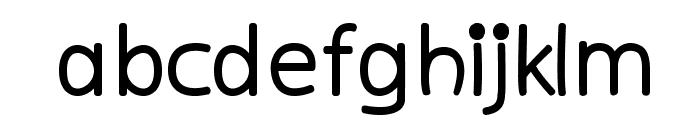 kiddySans-Fat Font LOWERCASE