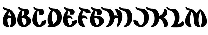king cobra Font UPPERCASE