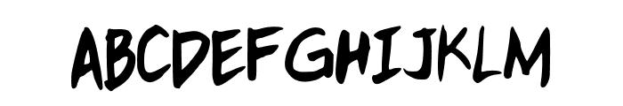 kitTypeExtra Font UPPERCASE
