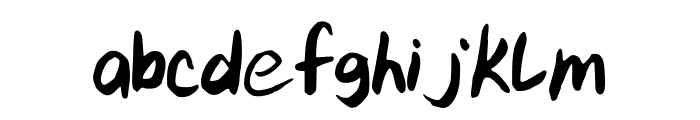 kitTypeExtra Font LOWERCASE