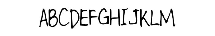 kitTypeThin Font UPPERCASE