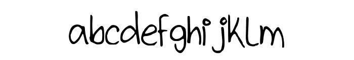 kitTypeThin Font LOWERCASE