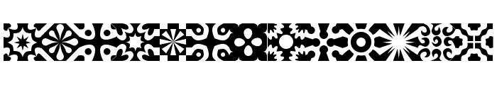 kitchen tile Font UPPERCASE