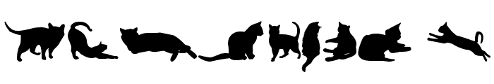 kitty cats tfb Font OTHER CHARS