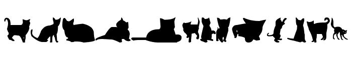 kitty cats tfb Font UPPERCASE