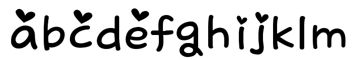 kitty sweety Font LOWERCASE