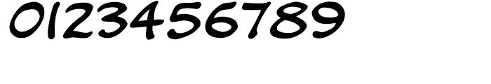 Kickback Regular Font OTHER CHARS
