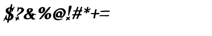 Kidela Bold Italic Font OTHER CHARS