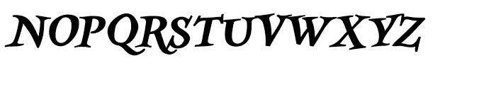 Kidela Bold Italic Font UPPERCASE