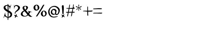 Kidela Regular Font OTHER CHARS