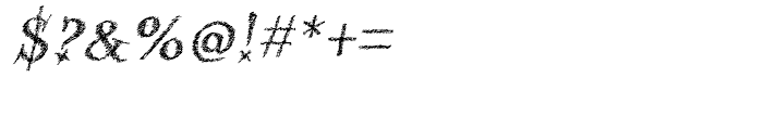 Kidela Sketch Bold Italic Font OTHER CHARS