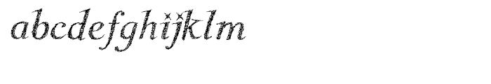Kidela Sketch Italic Font LOWERCASE