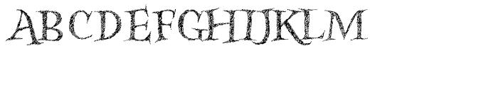 Kidela Sketch Regular Font UPPERCASE