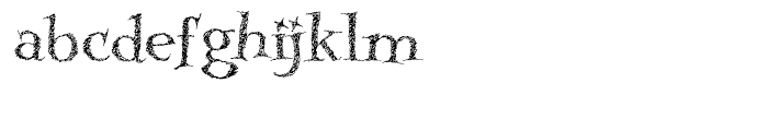 Kidela Sketch Regular Font LOWERCASE