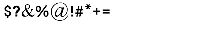 Kikar Dizengof Square Medium Font OTHER CHARS