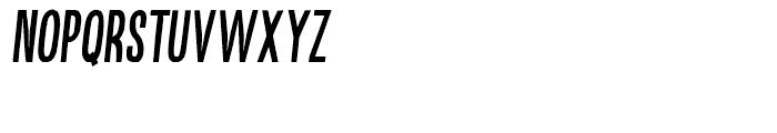 Kikster Bold Italic Font UPPERCASE