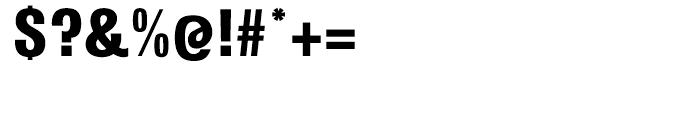 Kilburn Black Font OTHER CHARS