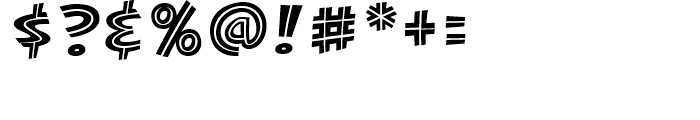 KillJoy Inline Regular Font OTHER CHARS