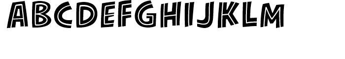 KillJoy Inline Regular Font UPPERCASE