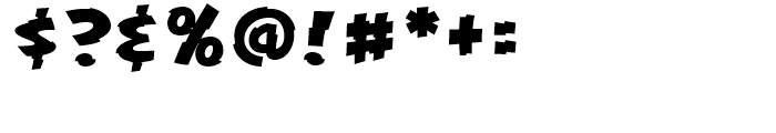 KillSwitch Regular Font OTHER CHARS