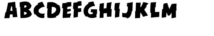 KillSwitch Regular Font UPPERCASE