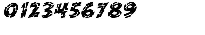 KillZone Inline Italic Font OTHER CHARS