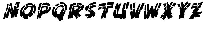 KillZone Inline Italic Font UPPERCASE