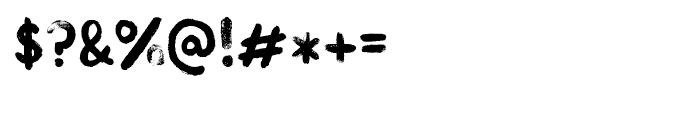 Kind Type Regular Font OTHER CHARS