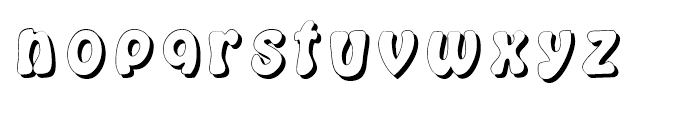 Kings in Disguise Shadows Font LOWERCASE